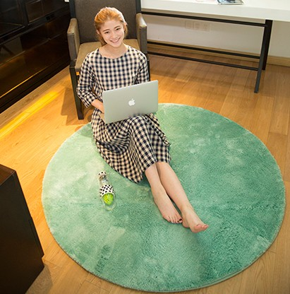 100% poliéster azulejo de piso liso <span class=keywords><strong>salón</strong></span> de alta calidad de la alfombra peluda