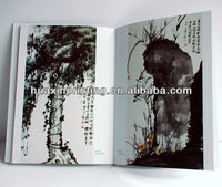 cheap china book printing on painting art