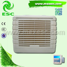 Indoor family wall water cooler ducting mounted cooler