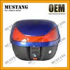 A Class Professional Design Motorbike Top Box Rear Box with Reflector Red Lamp