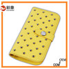 2015 newest Genuine leather mobile phone case for samsung galaxy S4 i9500,cell phone case