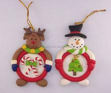 fashion X'mas decoration christmas clay