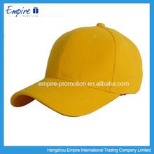 Top quality logo long visor baseball cap