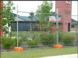 Temporary Metal / Wire Mesh Fence With High Quality