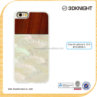 2015 Fashion Colorful Real Seashell Wood Bamboo for iPhone 6 Case Ultra Thin, Luxury for iPhone 6 6s Shinning Case