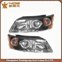 OEM NO. R:92202-3K000 L: 92201-3K000 Hyundai NF Sonata 04 Head Lamp / Headlight / Head Light