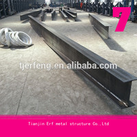 Alibaba best seller Hot Rolled H Beams/I Beams/SS400/A36 building materi