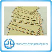 custom high quality recycled brown kraft envelope