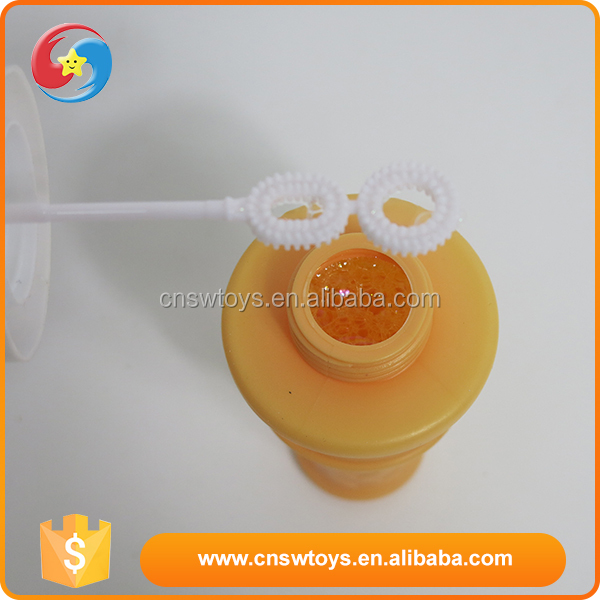Kids funny outdoor plastic summer soap game water blowing bubbles toy