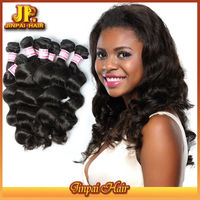 2015 Human Hair JP Hair Unprocessed Wholesale Real Raw Hairstyles With Brazilian Weave