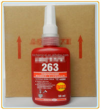 construction chemical sealant Threadlocker anaerobic sealant loctite adhesives sealants loctite 263 (instead 271) 50ml