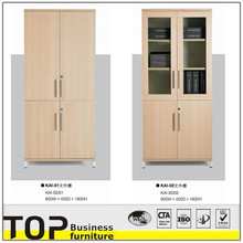 2015 office wooden file cabinet & flat file cabinet