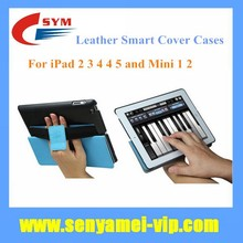 High Quality Ultra Thin Stand Flip Leather Smart Case For iPad 4 3 2,For iPad Air