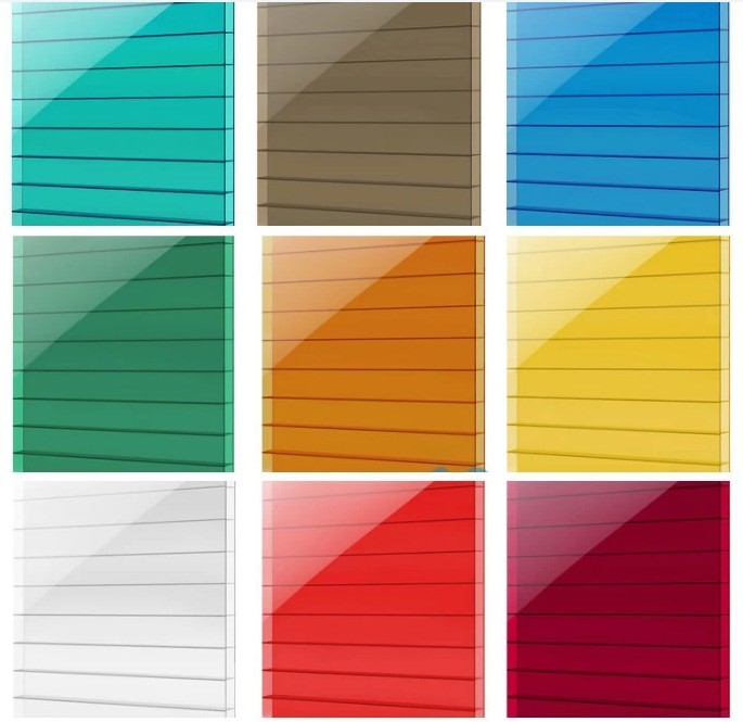 Clear And Colored Polycarbonate Corrugated Plastic Roofing Sheets ...