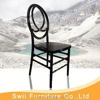 high quality fahionable colored acrylic salon chair resin chiavari chair