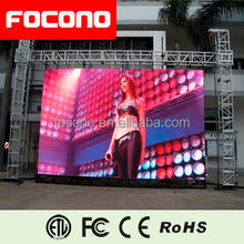 8 Years Warrany Back-up Power system Commercial Outdoor LED Billboard LED Screen Video Blue Film Indonesia LED Screen