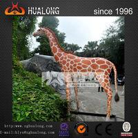 life size Animal Exhibit animatronic giraffe model