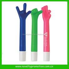 Plastic Hand Shape Carton Pen