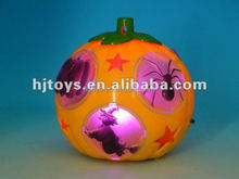 Halloween gift plastic light pumpkin