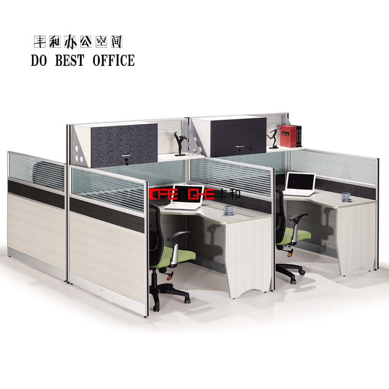 Modern Office Furniture High Wall Office Cubicle Design With Hanging ...