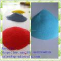 tingida de cor de areia de sílica para aquários