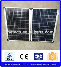 A grade portable kits low price 100w folding solar panel price per watt fast delivery
