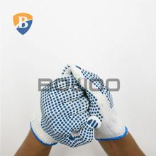 7G safety white cotton glove