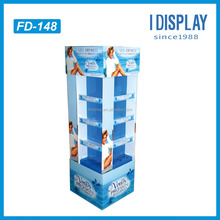 cardboard floor display stand racks for dry retail alibaba china