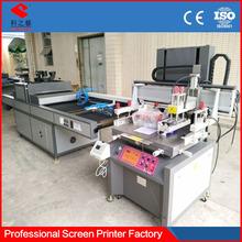 paper flat spot uv semi-automatic silk screen printing machine for sale