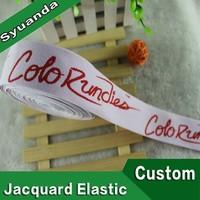 Custom Design Jacquard Elastic Straps for Pants