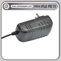 new design dc 12v 1a 1.5a power dc adapter professional manufacture from Shenzhen