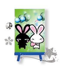 Children diy toy lovely cartoon pattern diy diamond painting kit easy to make