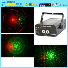 X11 RG 150mW new design red and green mini stage laser lighting
