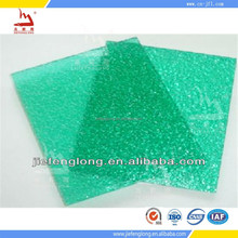 Decorative pc embossed sheet indoor roof covering plastic