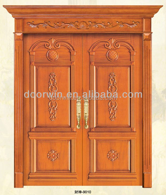 Natural flat solid teak wood main door designs buy wood for Main door design for flat
