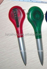 MIni plastic material ballpoint pen&ball pen with tape& pen with ruler set CH-6552