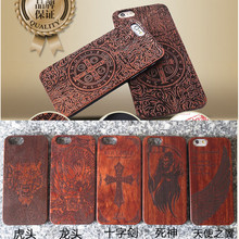 Real wood factory eco friendly personalized wooden cell phone case for iphone 6, for iPhone 6 wooden case bamboo