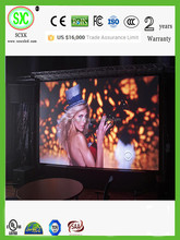 p5.2mm xxx hd small led video screen/high quality indoor p2.5 full xx video led display board