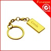 metal customized double sided key chain