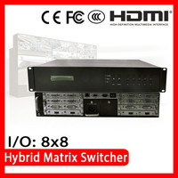 ISEMC HDMX-2U CE FCC Certified distributor wanted Audio and Video 4 x 2 hdmi matrix switch