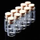 garrafas de vidro vazias com cortiça para casamento convida, designers de jóias, arte e artesanato