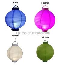 Mixture colors & size!! Fashion led paper lantern/ paper lantern