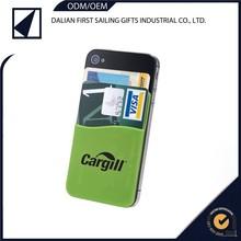 3M sticker silicon card holder , mobile phone case card holder wallet