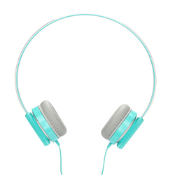 Mini Stereo Lightweight Headphones with 4.92 ft. Cord
