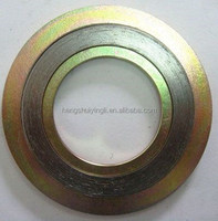 Graphite,PTFE,Non Asbestos Filler SS316L,3304 Stainless meterials spiral wound gasket