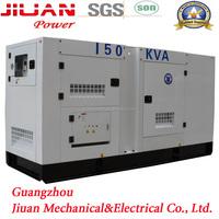 150kva guangzhou stock power electric diesel generator set genset silent diesel engine 150 kva diesel generator price