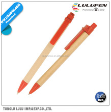 Eco Green Paper Barrel Promotional Pen (Lu-Q09733)