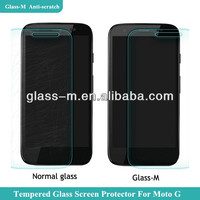 Glass-M Waterproof Anti-fingerprint Tempered Glass Screen Protector Cover For Moto G