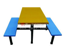 Resturant table furniture for sale ,school dining equipment for student ,fiberglass table top and benches direct sale