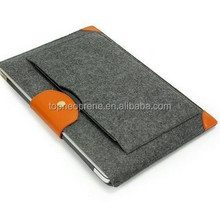 Custom wool Felt Laptop sleeve Portable Bags Notebook
